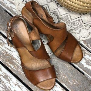 84550a0b9f3 Eric Michael Shoes - Eric Michael Cognac Marila Sandal 38